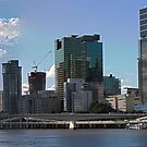 Brisbane from Southbank (I-i) by Ali Choudhry