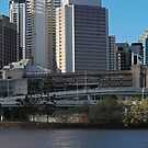 Brisbane from Southbank (I-ii) by Ali Choudhry