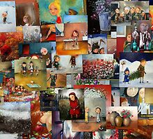 Childhood (A collection of oil paintings by Monica Blatton) by Monica Blatton