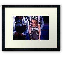 Kylie Minogue Framed Print