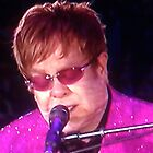 Sir Elton John by Marie Brown ©