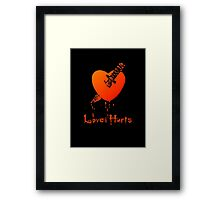 Love Hurts by Chillee Wilson Framed Print