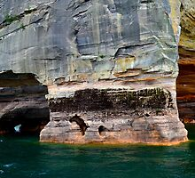 Pictured Rocks 5 by Debbie  Maglothin