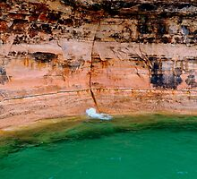 Pictured Rocks 2 by Debbie  Maglothin