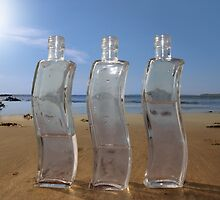 three curvy bottles by morrbyte