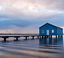 The Blue Boatshed by Mieke Boynton
