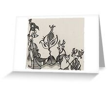 Menagerie Greeting Card