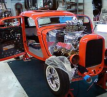 Bianchi Hotrod being built by mitchcornacchia