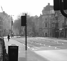 A quiet morning in Cardiff  by MatthewMPhotos