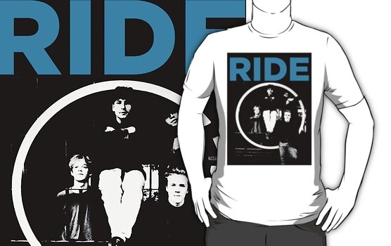 Ride - band T shirt (1992) by cultcine