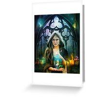 The Alchemist Greeting Card