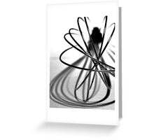 Abstract Kitchen Whisk Greeting Card