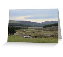 Loch Muick Valley Greeting Card