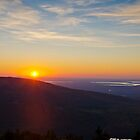 Cadillac Mountain Sunset.1 - Acadia National Park, Maine by Jason Heritage
