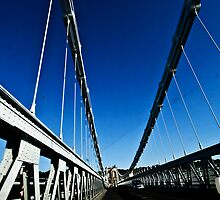 Menai Suspension bridge by David Cooper