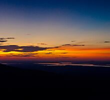 Cadillac Mountain Sunset.3 - Acadia National Park, Maine by Jason Heritage