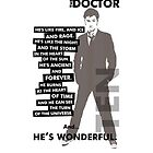 Doctor Who - 10th Doctor (variant 2) by glassCurtain