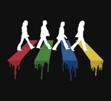 Abbey road in colors by bomdesignz