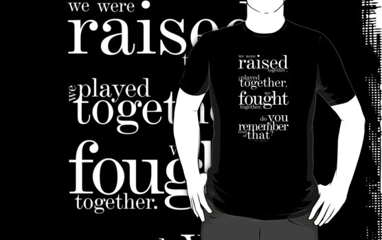 The Avengers - Thor quote (variant 1 dark shirts) by glassCurtain