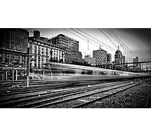 The 14:37 Rush - Melbourne Style Photographic Print