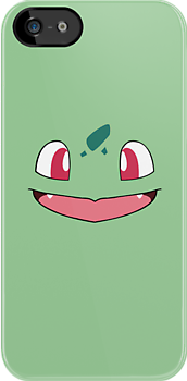Bulbasaur iPhone/iPod Case by starlitfury