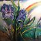 Iris, Rainstorm, Rainbow by Barbara Sparhawk