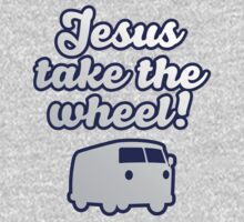 One Direction - Jesus take the wheel tshirt by Adriana Owens