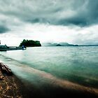 Volcanic Lake Toya by MikeBlake