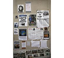 The wall of change? Photographic Print