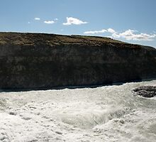 Gullfoss (Golden Falls) Panorama by Matthew Walters