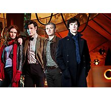 Team TARDIS Photographic Print