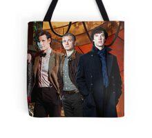 Team TARDIS Tote Bag