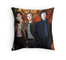 Team TARDIS Throw Pillow