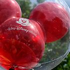 Red Balloon with Reflection by Mark Fendrick