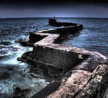 St Monans Breakwater. by ninjabob