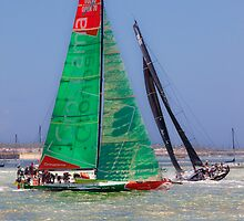 Volvo Ocean Race. Lisbon. Groupama and Abu Dhabi by terezadelpilar~ art & architecture