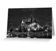 Notre Dame de Paris (HDR) Greeting Card