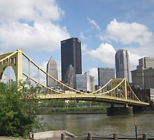 Pittsburgh Skyline by Kimberly Scott