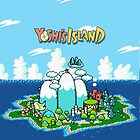 Yoshi&#x27;s Island Iphone Case by carnivean