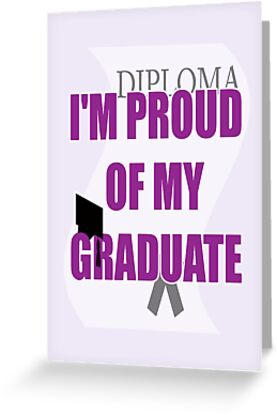 proud of grad card by dedmanshootn