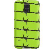 Barbed Wire by Chillee Wilson Samsung Galaxy Case/Skin