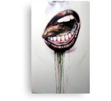 do you wanna touch Canvas Print