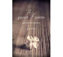 The Purest Of Spirits Photographic Print