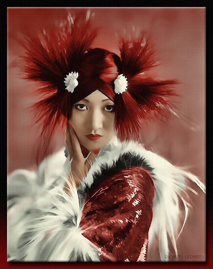Anna May Wong 1905 - 1961 by Richard  Gerhard
