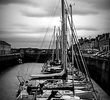 Lossiemouth Harbour by Colin Hayward