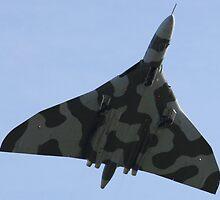 RAF Vulcan. by Darrenadie