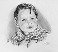 Portrait of little Sara  by braik tiberiu alexandru