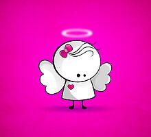 Angel girl by Media Jamshidi