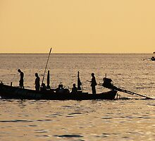 Fishing Boat, Thailand by KUJO-Photo