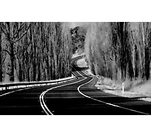 The Winding Road Photographic Print